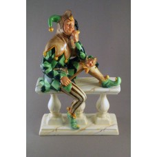 VERY RARE The Jester by Doulton Artist Robert Tabbenor Limited Edition