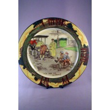 "Royal Doulton Early Motoring ""Itch yer on Guvenor?"" Seriesware Rack Plate D2406"