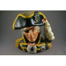 Royal Doulton Vice-Admiral Lord Nelson Character Jug D6932 - 6.75""