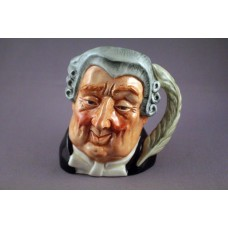 Royal Doulton The Lawyer Character Jug D6504 - 4""