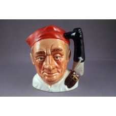 Royal Doulton Williamsburg Bootmaker Character Jug D6574 - 4""