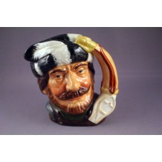 Royal Doulton The Trapper Character Jug D6612 - 3.75""