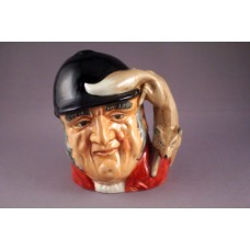 Royal Doulton Gone Away Character Jug D6538 - 4""
