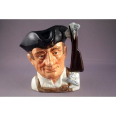 Royal Doulton Williamsburg Gunsmith Character Jug D6580 - 4""