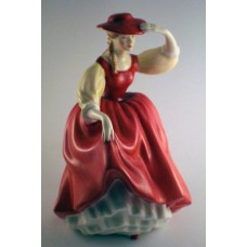 Royal Doulton HN 2399 Buttercup (Red Dress)