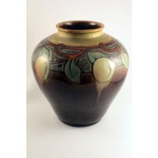 Royal Doulton Lambeth Margaret Thompson Stoneware Vase 6.5""