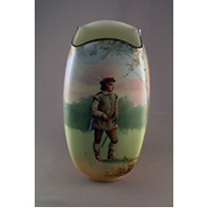 Royal Doulton Shakespearean Orlando Square Sectioned Vase